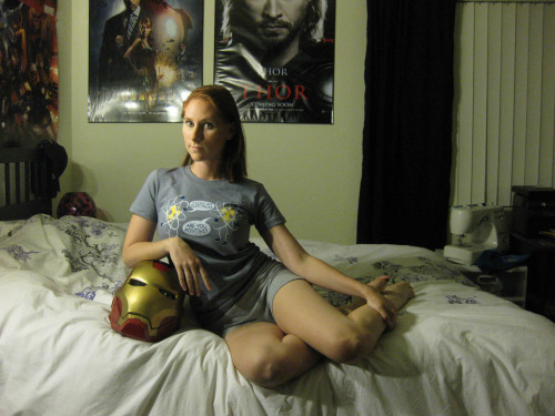 Pepper Potts PJ's from Iron Man 3 | 2012  I don't have the wig yet I hate that I need a wig for Pepper now. Can't wait to grow it out! But I'm excited that I can finally unveil this now that the trailer is out! This is one of three planned Pepper costumes I have from Iron Man 3.