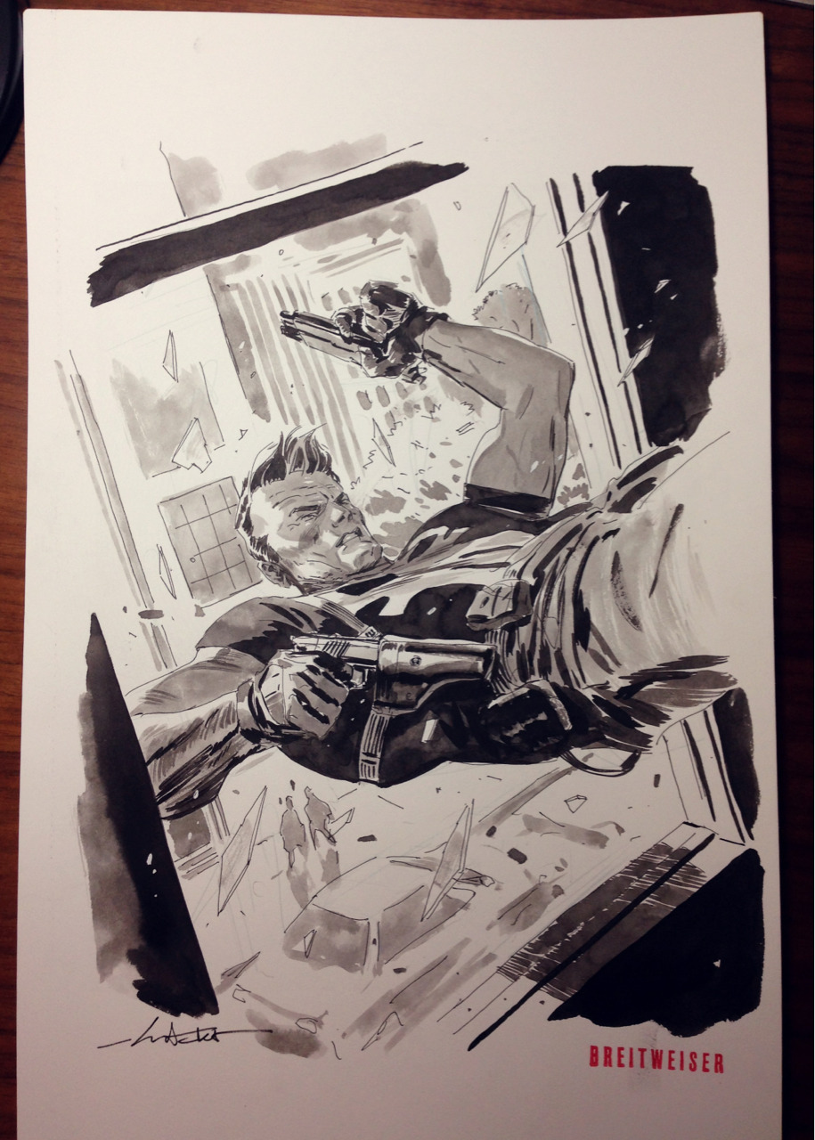 Punisher commission.