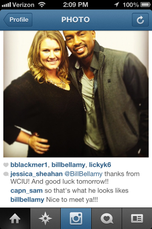 Ahhh! Bill Bellamy liked my instagram!