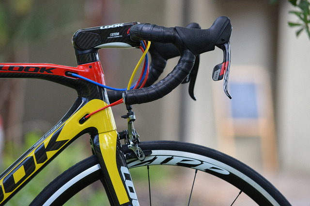 Look 695 Mondrian with Zipp 101 Powertap and SRAM Red 2012 064 by Glory Cycles on Flickr.