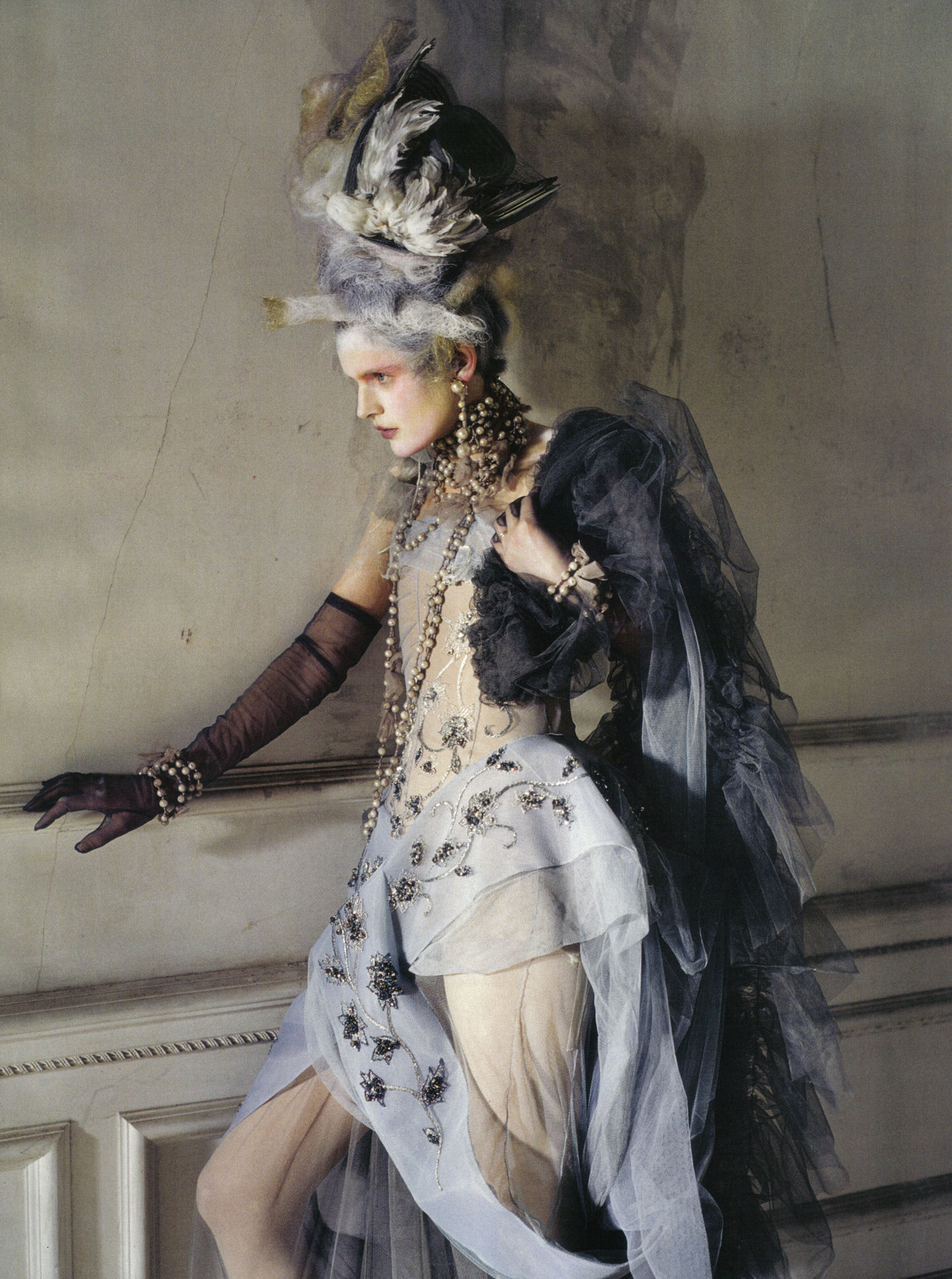 bohemea:  Stella Tennant: Lady Grey - Vogue Italia by Tim Walker, March 2010
