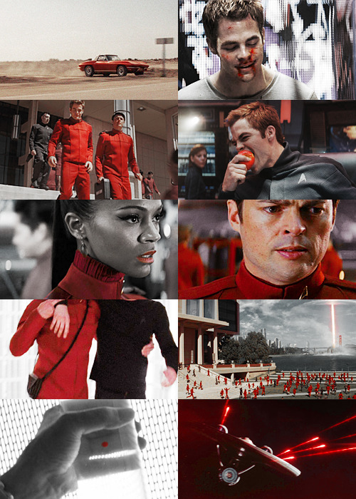Red + Star Trek (asked by languid-summers)