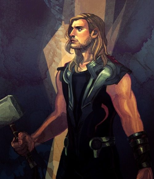 liondew:  God of Thunder by akipunch http://akipunch.deviantart.com/