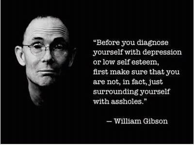 On self-diagnosed depression.