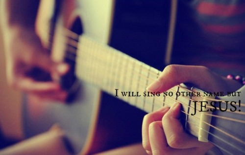 I will sing to the Lord all my life; I will sing praise to my God as long as I live! -Psalm 104:33