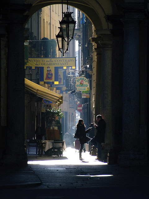 Light and Shadow, Torino, Italy photo via indivis