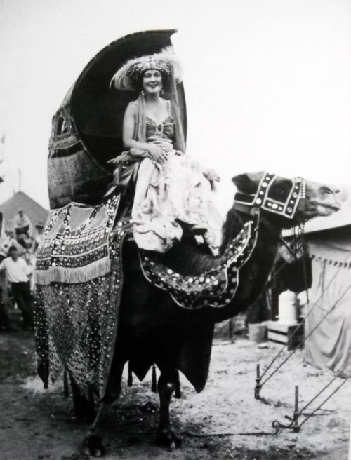 sisterwolf:  Circus lady, 1930  via
