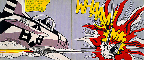 WHAMM! Happy Birthday, Roy Lichtenstein!