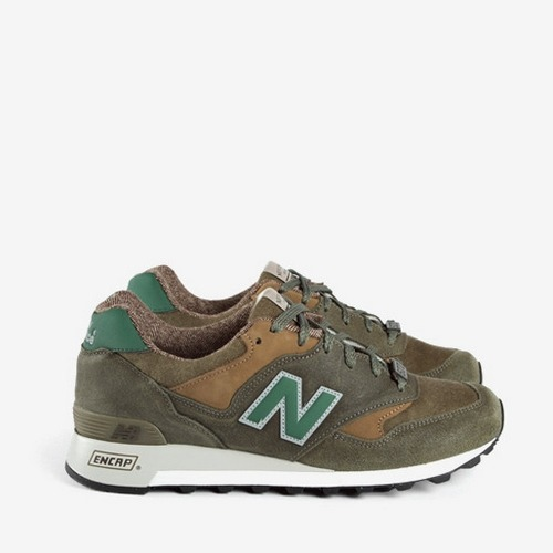 New Balance M577FMO Olive, dispo chez Thehipstore.co.uk !