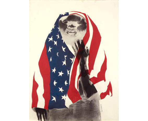 america the beautiful. david hammons.