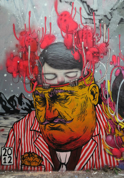 with Gone, Broken Fingaz - artist Julien Malland aka