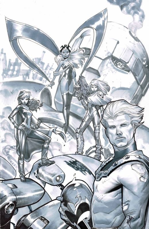 The X-Men by Jorge Molina