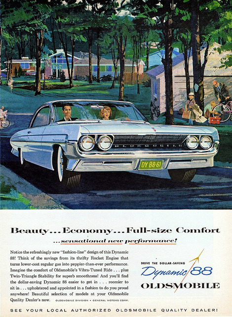 1961 Oldsmobile Dynamic 88 Holiday Coupe by aldenjewell on Flickr.1961 Oldsmobile Dynamic 88 Holiday Coupe