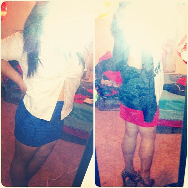 These were potential #ootn but I decided to come to the club comfy! #outfit #ootn #clubscene #mirrorpic #wholebody #legs #selfie #selfportrait #filipino #happy