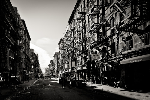 Lower East Side. New York.