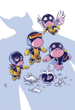 All-New X-Men #1 Variant Cover by Skottie Young