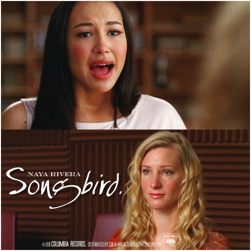2x19 Rumours | Songbird Alternative Cover 'The Infinite Brittana Series'
