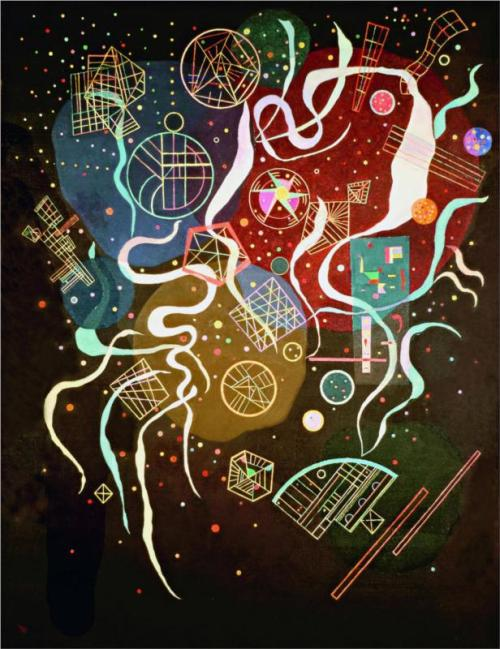 Wassily Kandinsky, Movement 1, 1935.