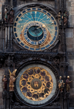 allthingseurope:  Prague Astronomical Clock. (by MariusRoman)