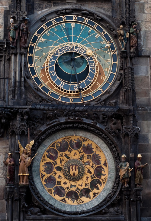 allthingseurope:  Prague Astronomical Clock.