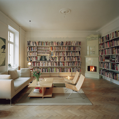homedesigning:  Home Library Design  iLike.