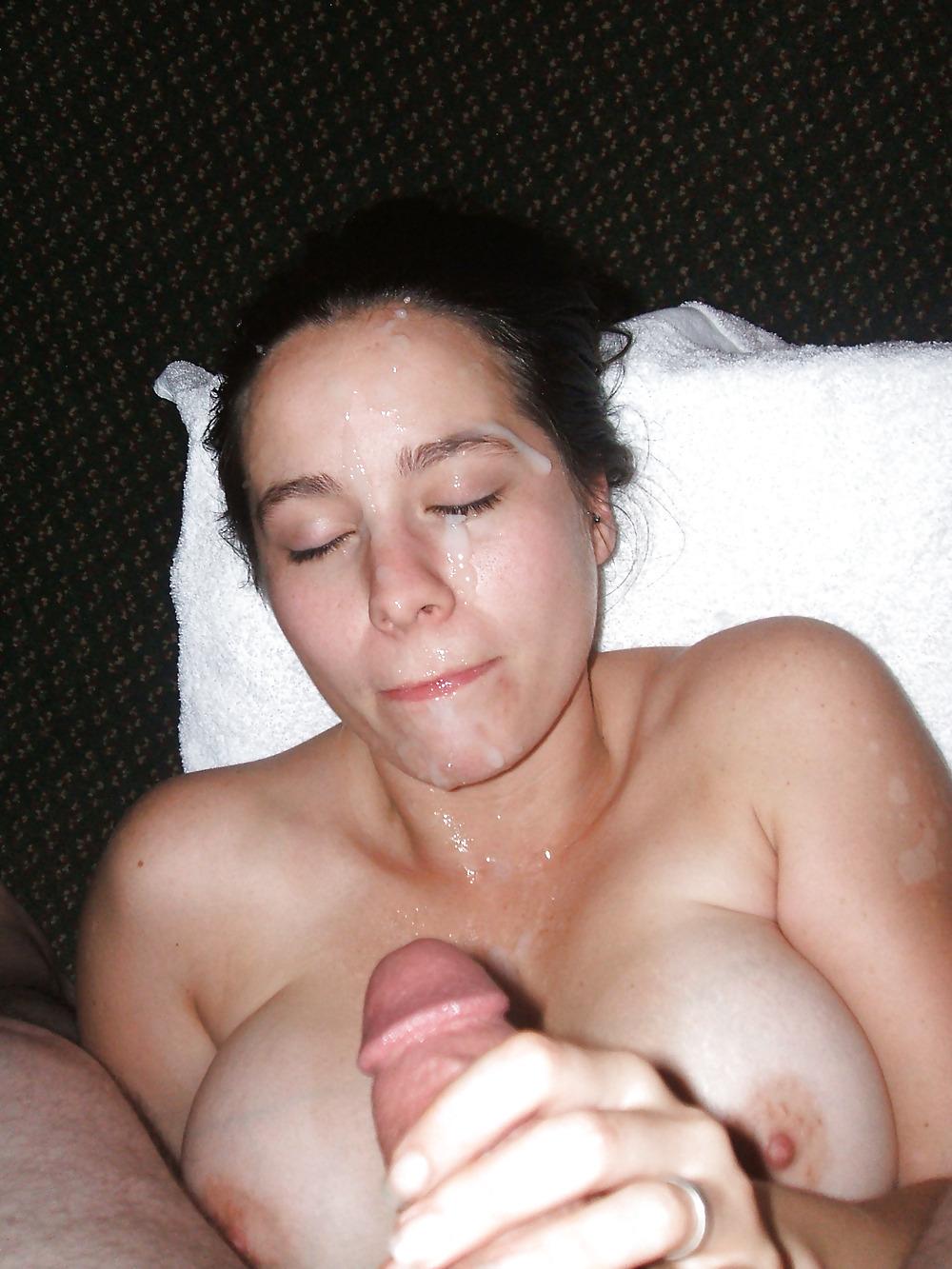 Mature blowjob and cum