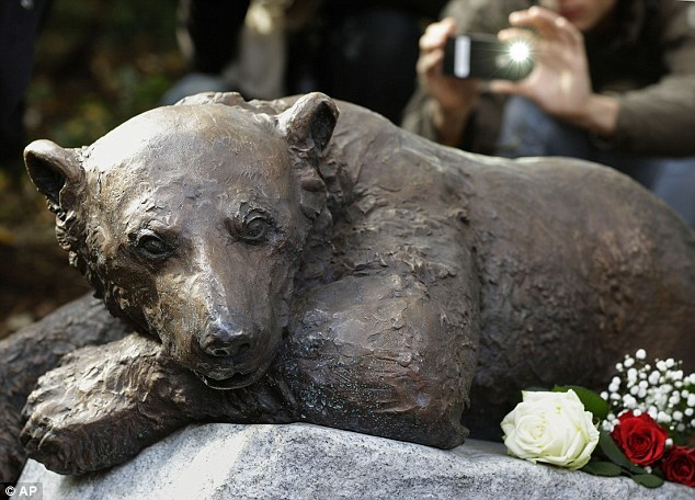 "Berlin Zoo unveils memorial to Knut the polar bear - Titled ""Knut - The Dreamer"" which was created by artist Josef Tabachnyk. Knut was born at Berlin Zoo on 5 December 2006 but was rejected by his mother Tosca. The keepers at Berlin Zoo made the decision to hand rear him. Knut spent the first 44 days of his life in an incubator before zookeeper Thomas Dörflein began raising him. Not long after his birth Knut started to become known worldwide and for animal lovers all around the world to fall in love with him, and by time Knut had reached adolescence he became an international celebrity. Tragically on 19 March 2011, Knut died from drowning after collapsing into his enclosure's pool while suffering from encephalitis, a disease of the brain. Knut was just aged four when he died. Although gone, with this memorial of Knut he will never be forgotten and will live on."