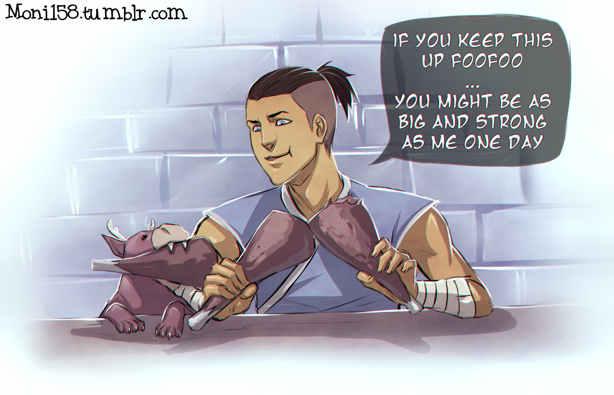 More Foofoo and Sokka moments ;D
