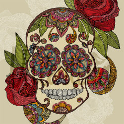 fer1972:  Sugar Skull by Valentina Design