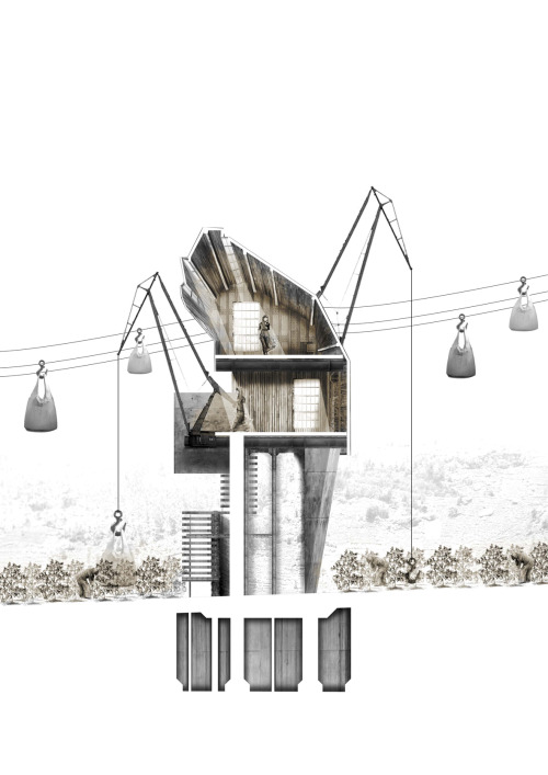 archisketchbook:  Cotton Harvest House, Hugo Reichmann, 2012