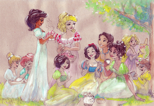 "Completely in love with this. ""Regency Princess Picnic"" by taijavigilia."