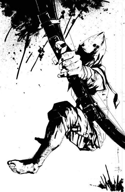 ilovecomiccovers:  Green Arrow by Jock