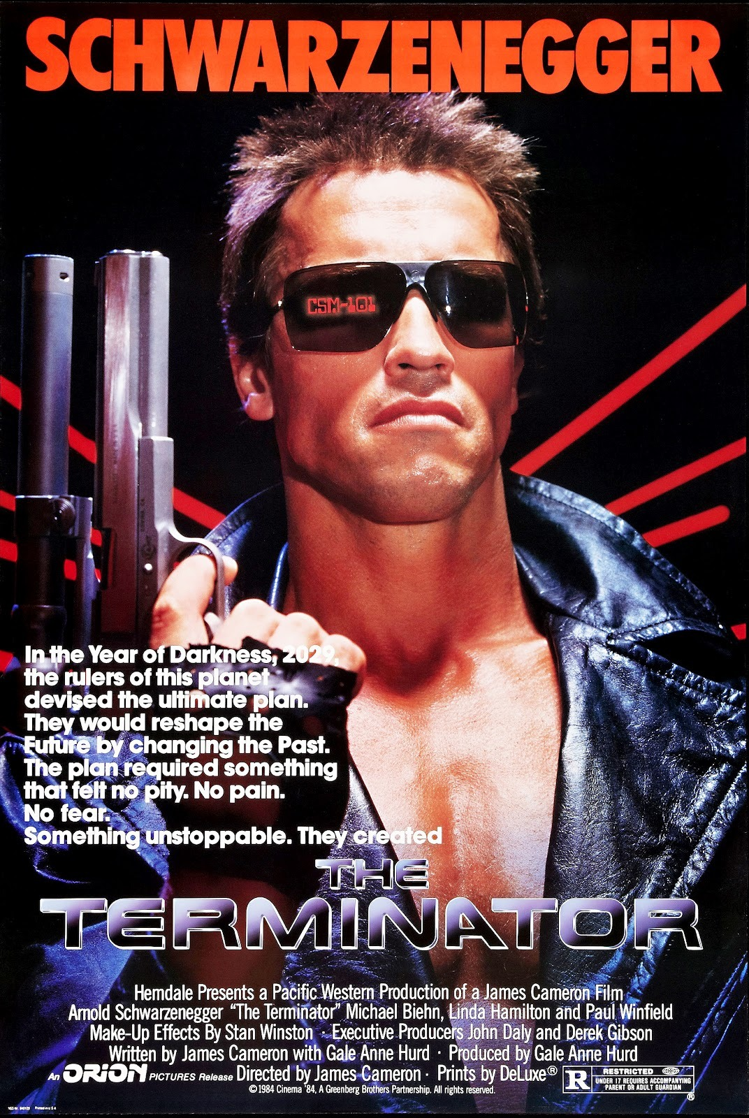 BACK IN THE DAY |10/26/84| The movie, Terminator, is released in theaters.