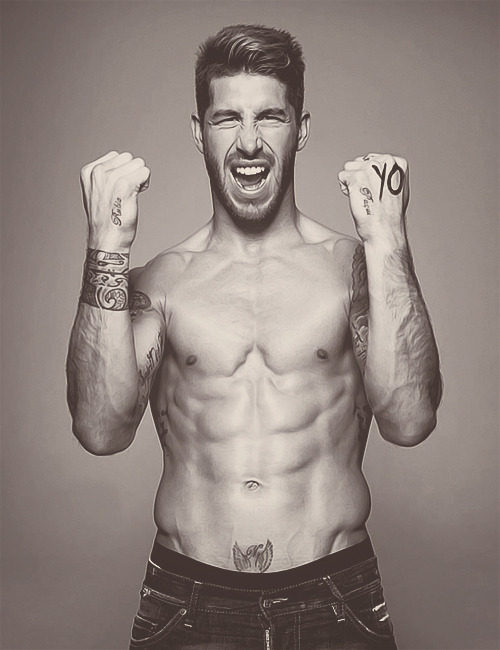 I don't really like Sergio Ramos but DAMN SON!!