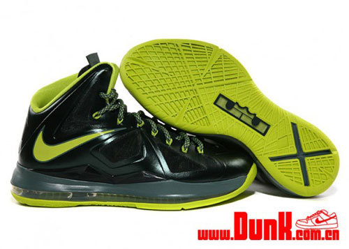 "Nike LeBron 10 ""Dunkman"" – Detailed LookLeBron James' will continue on with his ""Dunkman"" series to his latest Nike LeBron 10 model. We got a look at a few images a couple of weeks ago, and now detailed images of this sneaker has surfaced. The latest LeBron 10 Dunkman will feature sport a predominately dark grey upper and is complemented with volt accents throughout the shoe.Giving this shoe a stamp of approval is a Dunkman logo can be found along the medial side of the shoe. Stay tuned as the latest updates for the Nike LeBron 10 Dunkman surfaces. Who's coppin'?"