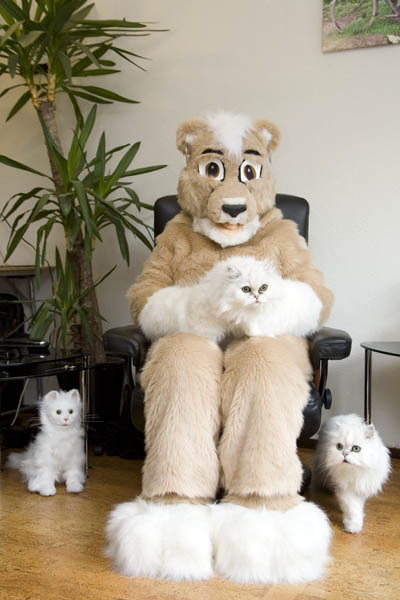 Hanging out with European furries