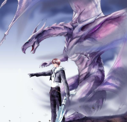 finalfantasycentral:  Hear Us Roar - Squall and Bahamut