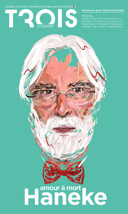 Michael Haneke by Jocelyn Gravot.
