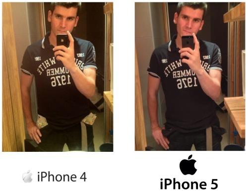 Foto: Diferencia entre iPhone 4 y 5 Enviado por Ku27:  Buenas fino, me acabo de pillar el Iphone 5, y he estado haciendo pruebas con la camara de fotos y la verdad es que la diferencia es brutal, si no, fijate bien en las fotos y ya me cuentas… XD  Ya decía yo que este me sonaba de algo…