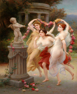 fleurdulys:  The Spring Dance - Jules Scalbert