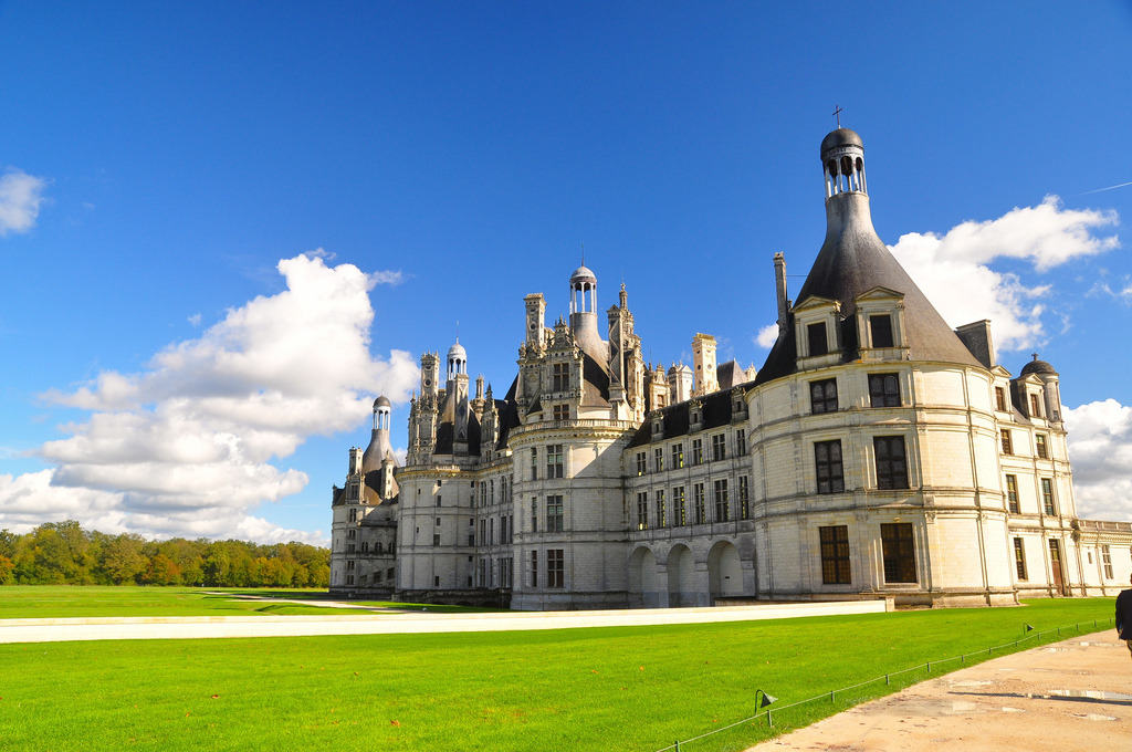 Snapped this at Chambord Chateau