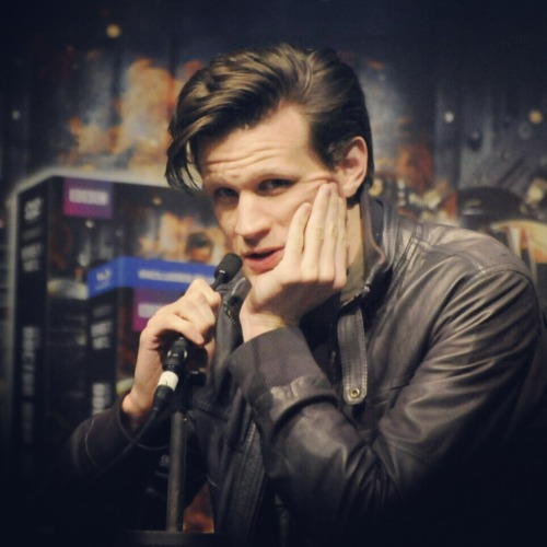 myarmoursstrong:  Matt Smith - London Comic Con Q&A Panel