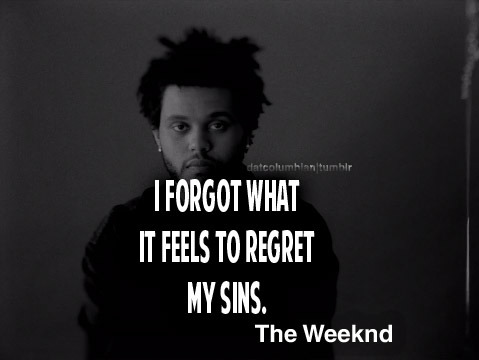 datcolumbian:  Enemy - The weeknd