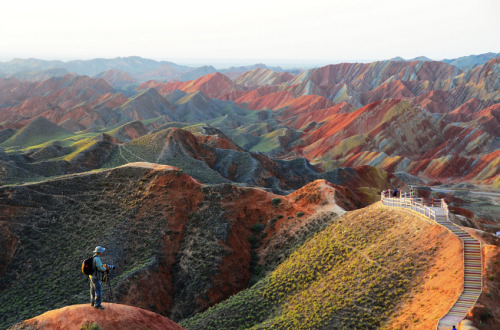 photojojo:  This is a real place. That is all.Danxia Landform by Melinda