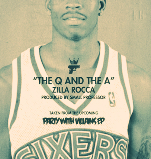 "There's a new song out about Allen Iverson, and you should hear it. Philadelphia MC, Zilla Rocca, just released the track, ""The Q and the A"", dedicated to the the former league MVP and four time scoring champion. It features a clever Jay-z sample and some honest lyrics detailing an NBA career that ended too soon. ( Is it really over though?) If you're too young to remember the ""Iverson Era"", this song describes it perfectly. If you were a die hard A.I. fan like me during the late 90's/early 2000's, the song will definitely take you back. Click here to listen."