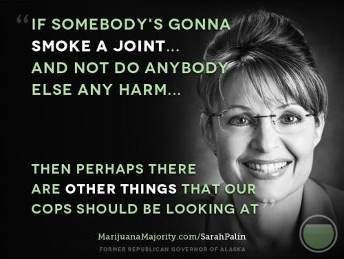 the one and only time a post isn't mocking Sarah Palin