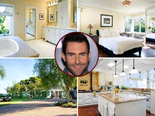 Maroon 5's Adam Levine is on the move…to Beverly Hills. Celebuzz has exclusively confirmed that he purchased a 6,500 square foot mansion in the hills on Oct. 19.