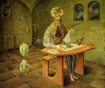Creation of the BirdsRemedios Varo 1957 Museo de Arte Moderno, Chapultepec Park, Mexico City, Mexico
