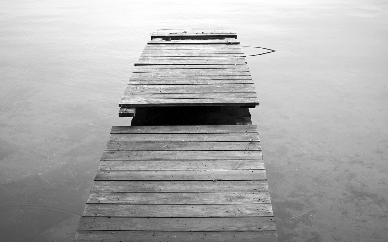 Lonely, Trakai // July 2011