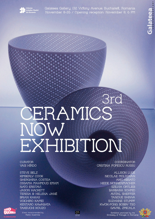 Ceramics Now Exhibition - International contemporary ceramics exhibition, third edition